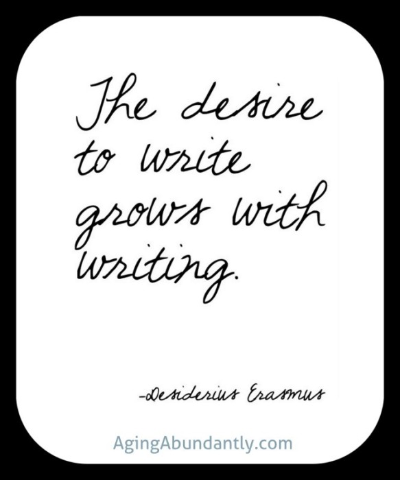 writing quote Erasmus